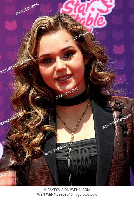 2016 Radio Disney Music Awards at the Microsoft Theater - Arrivals Featuring: Brec Bassinger Where: Los Angeles, California