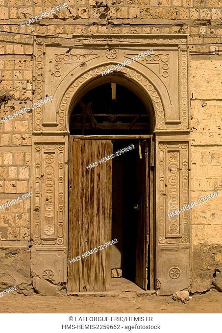 Eritrea, Horn Of Africa, Massawa, ottoman door
