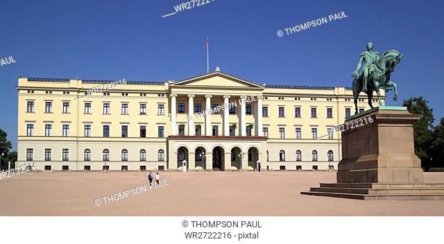 90900213, The Royal Palace, Oslo, Norway, Royal Pa