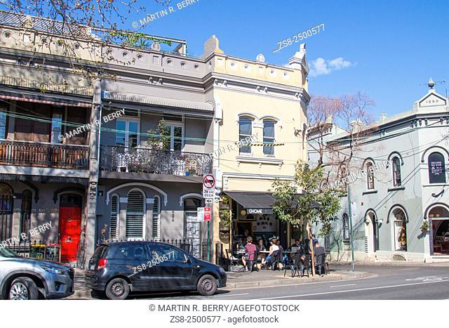 Cafe and Shops in Surry Hills Sydney