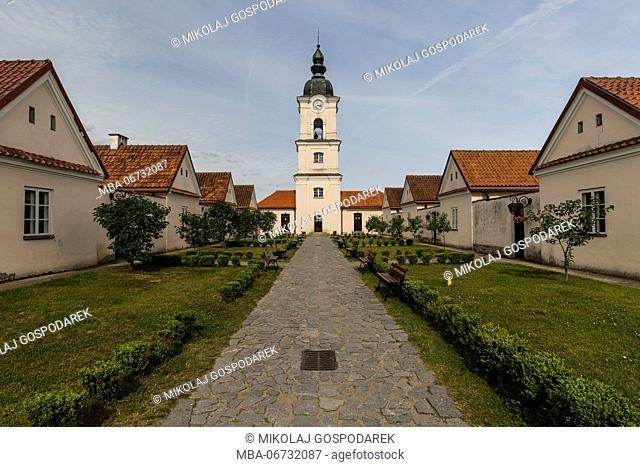 Europe, Poland, Podlaskie Voivodeship, Suwalskie / Suwalszczyzna - Wigry - The former Camaldolese monastery on the lake Wigry