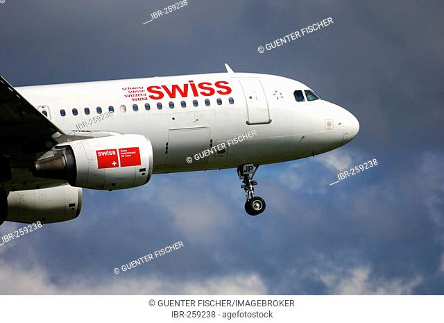 Airbus, Swiss International Air Lines, Switzerland