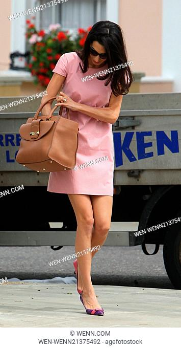 Amal Alamuddin leaves her apartment in Notting Hill Featuring: Amal Alamuddin Where: London, United Kingdom When: 20 May 2014 Credit: WENN.com