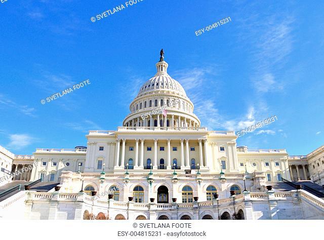 Capitol Hill Building ,Washington DC