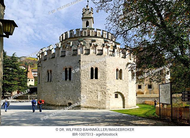 Saint Michael Chapel, Engelsburg, Neustift near Brixen, Bressanone, Alto Adige, Italy, Europe