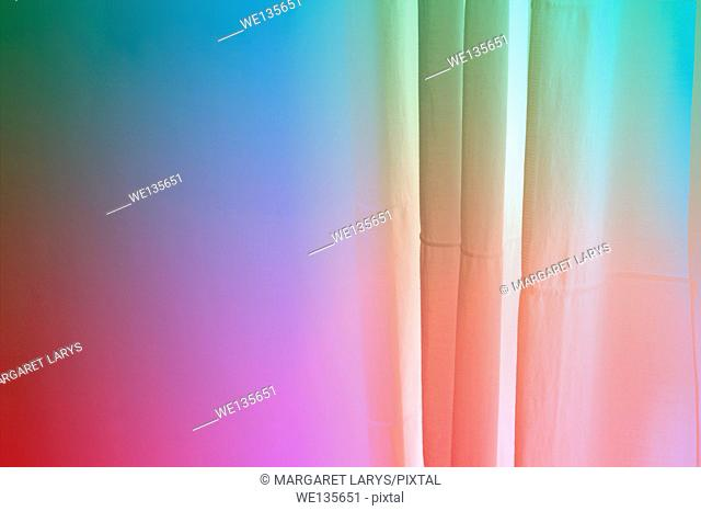 Pretty abstract background with vertical 3d lines