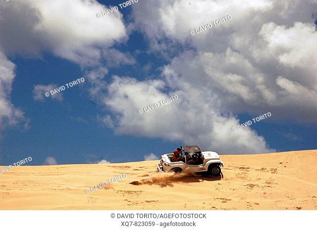 Sand dunes, Rio Grande do Norte, Brazil