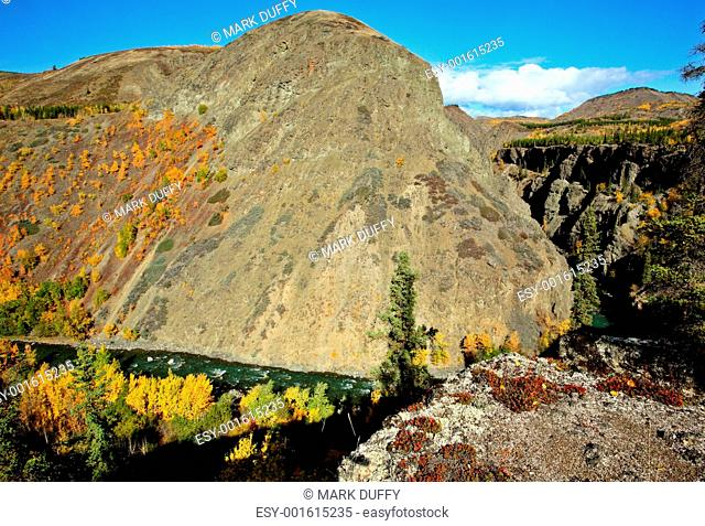 Grand Canyon of the Stikine River in Northern British Columbia