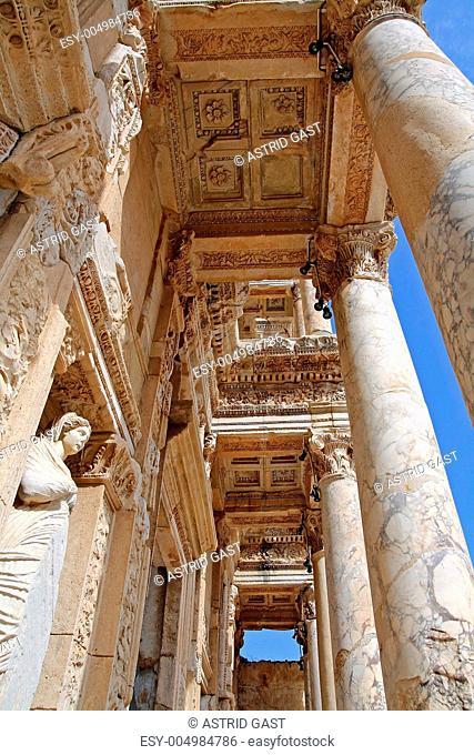 Die berühmte Celsus-Bibliothek in Ephesus