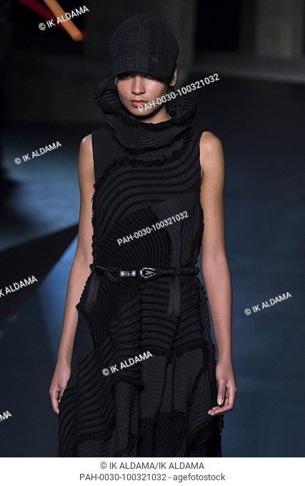 ISSEY MIYAKE'Äã runway show during Paris Fashion Week, Pret-a-Porter Autumn Winter 2018 - 2019 collection - Paris, France 02/03/2018
