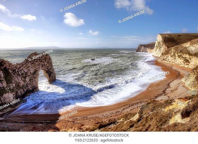 Durdle Door, Jurrasic Coast, Dorset, England, United Kingdom