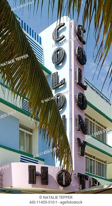Colony Hotel, South Bach, Miami Beach, Florida