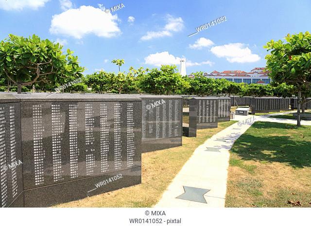 Cornerstone of Peace, Itoman, Okinawa, Japan