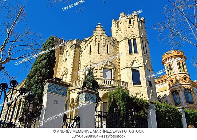 Buildings of interest, in Barrio San Gervasio Barcelona