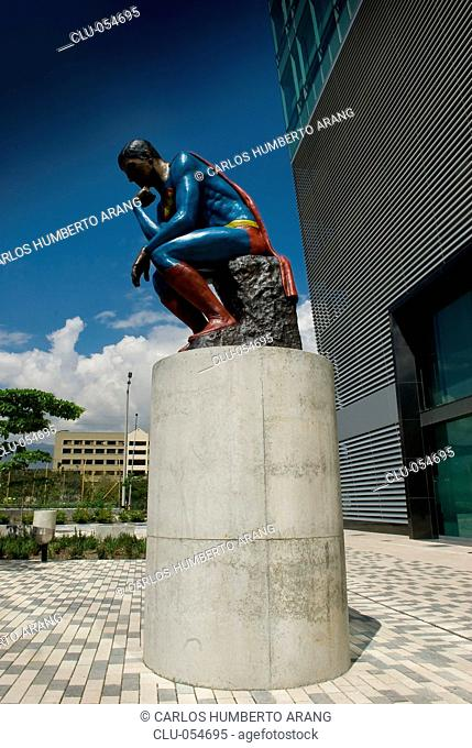 The Thinker, Group Bancolombia, Medellin, Antioquia, Colombia