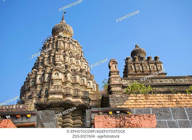 Sangameshwar temple, Saswad in Pune District, Maharashtra. Built alongside the confluence of rivers Karha and Chamli. Dedicated to Lord Shiva