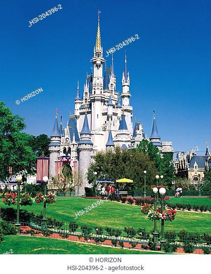 Travel, United States of America, Florida, Orlando, Walt Disney World