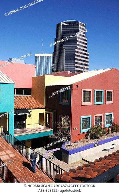 La Placita Village in downtown Tucson, Arizona, USA