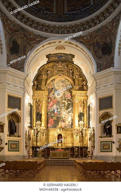 Madrid, Iglesia del Monasterio de San Placido