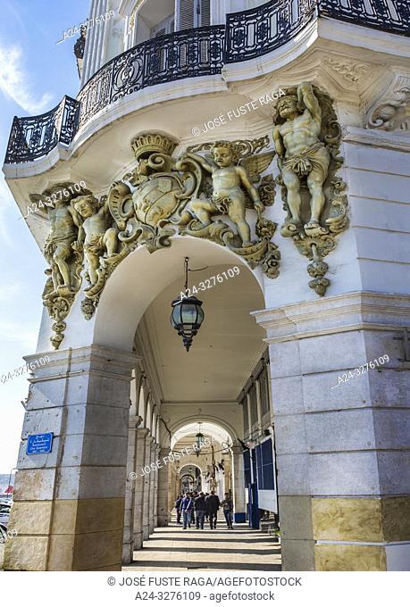 Argelia, Argel, Martyrs Square, Bldg
