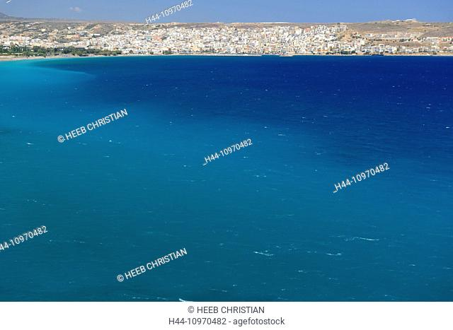 Europe, Greece, Greek, Crete, Mediterranean, island, Sitia, sea, boat, blue