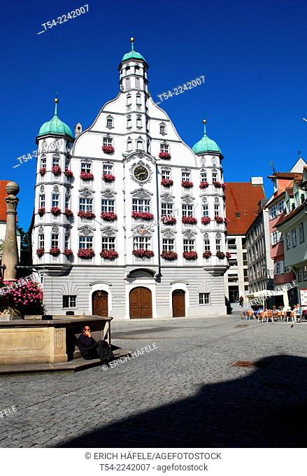 Historic City Hall in Memmingen