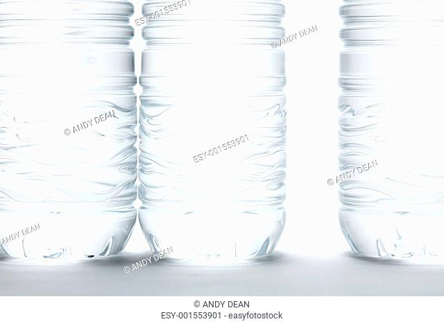 Water Bottles Abstract