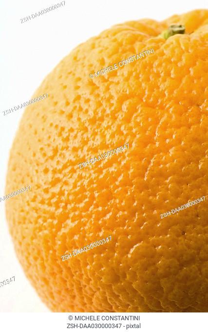 Orange, extreme close-up