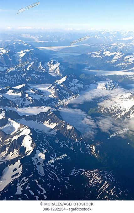 Alaska , Glacier Bay national park , South West Alaska  , North of Juneau  South West Alaska
