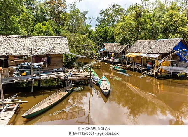 Borneo indonesian traditional Stock Photos and Images | age