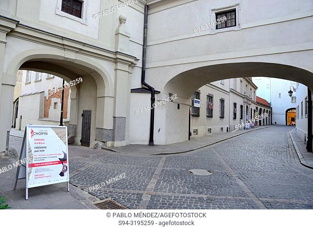 Passages in Stare Miasto, Warsaw, Poland