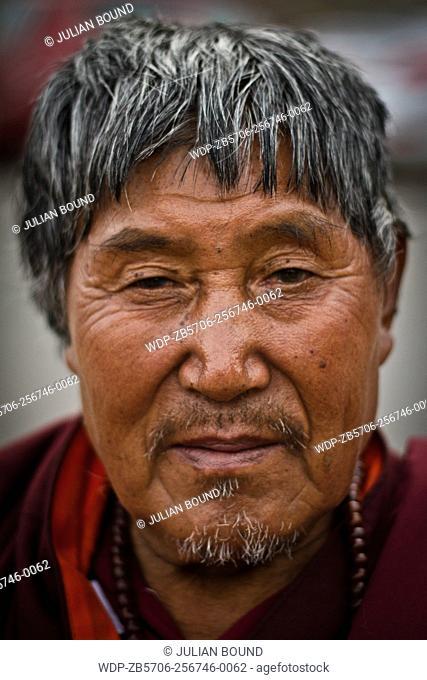 Old monk of Bhutan