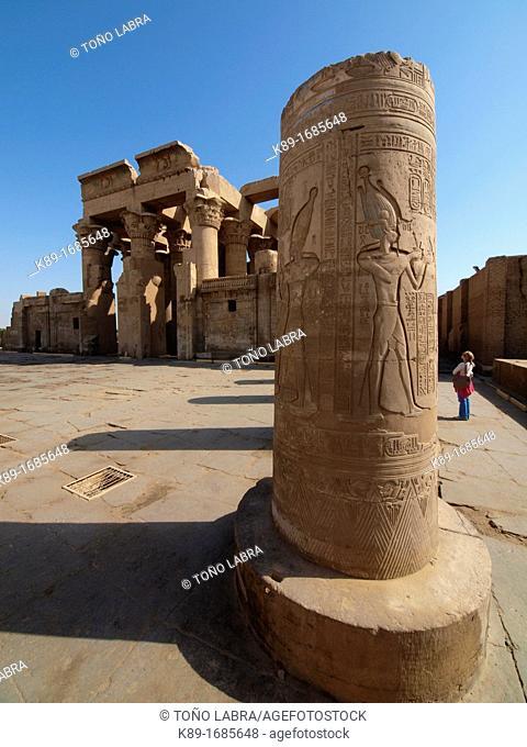 Kom Ombo Temple. Upper Egypt