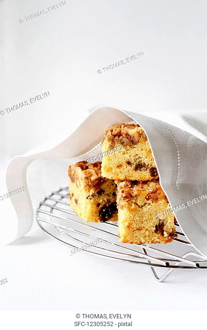 Maple Date Walnut Coffee Cake