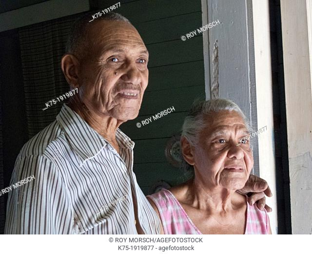 Senior couple in old Hershey factory town