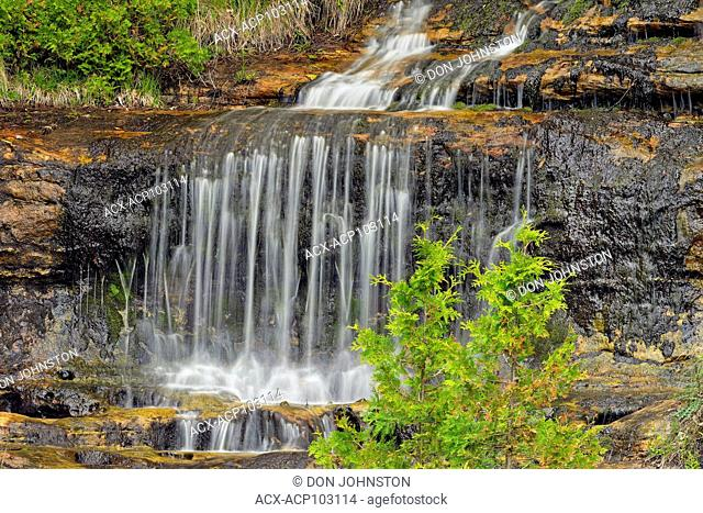 Alger Falls, Alger county near Munising, Michigan, USA