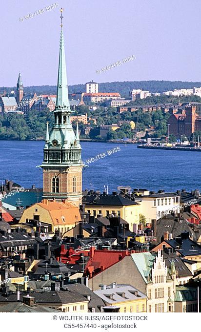 Tyska Kyrkan. Gamla Stan Island. Stockholm. Sweden