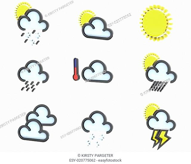 weather icon set no 1