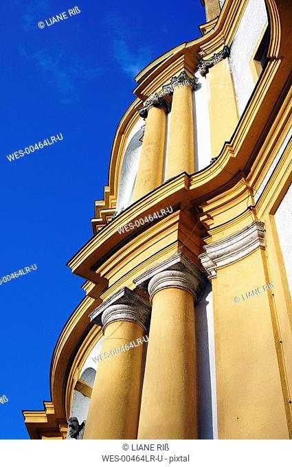 Germany, Bavaria, Munich, St. Michaels' Church, low angle view