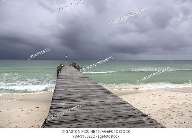 Storm in the sea, Sok San Beach, Koh Rong Island, Sihanoukville province, Kingdon of Cambodia