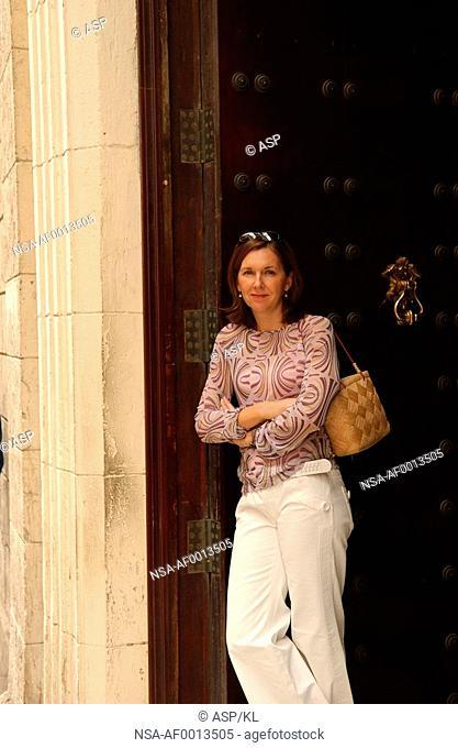 One woman, Havana, Cuba