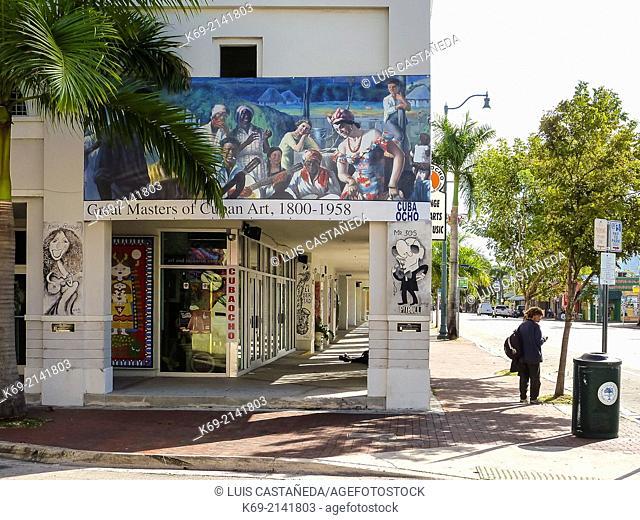 Cubaocho. Little Havana. Miiami. Florida. USA