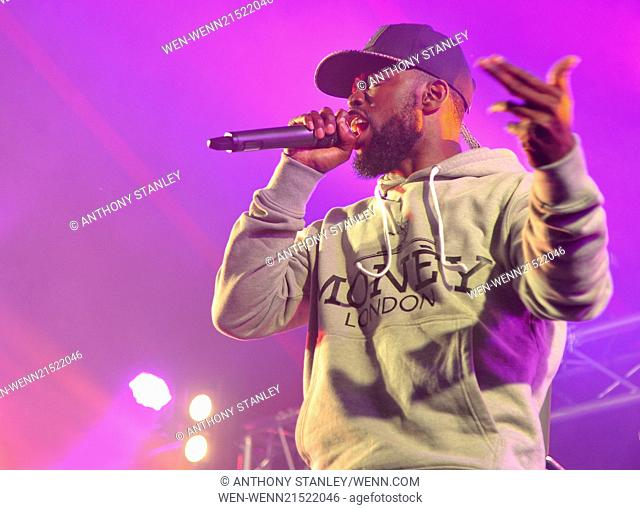 Godiva Festival 2014 - Day 2 Featuring: Ghetts Where: Coventry, United Kingdom When: 05 Jul 2014 Credit: Anthony Stanley/WENN.com