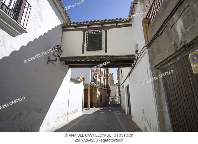 San Clemente town in Cuenca Castile La Mancha Spain