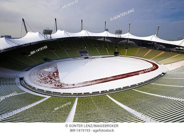 Olympic Stadium, Olympic Park, Munich, Bavaria, Germany, Europe