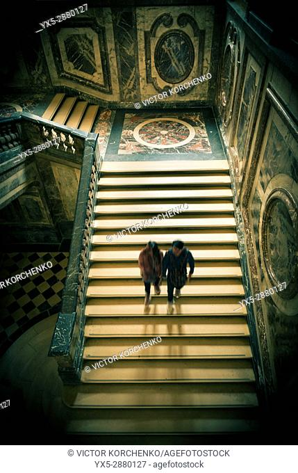 Staircase in Versailles palace