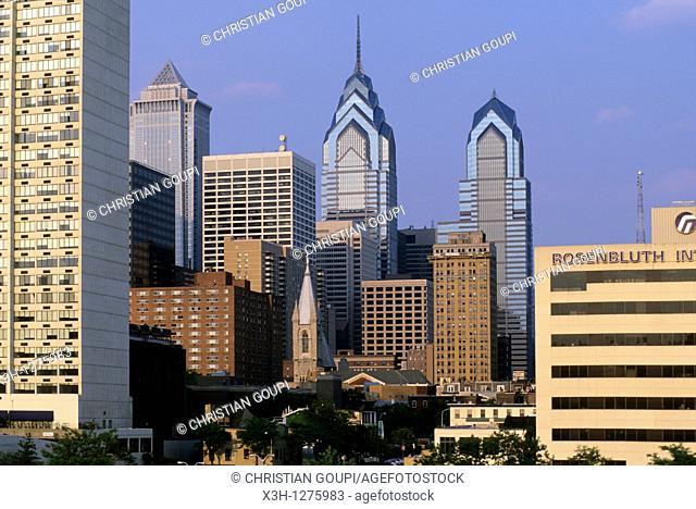 center city of Philadelphia, Pennsylvania, United States