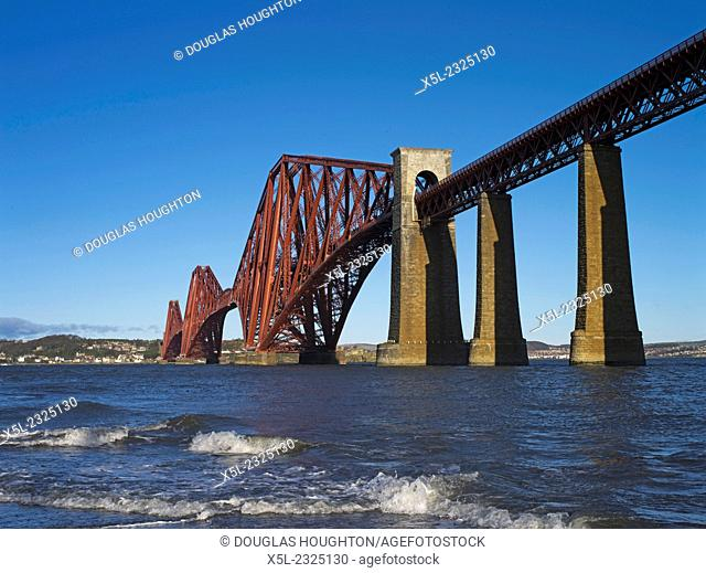 Forth Railway Bridge FORTH BRIDGE LOTHIAN Victorian Cantilever