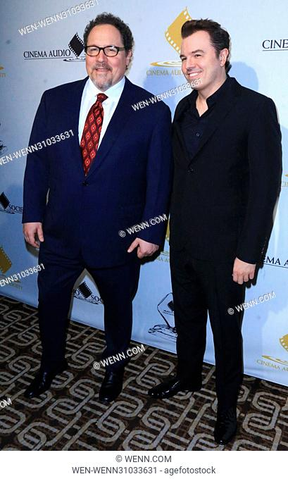 53rd Annual Cinema Audio Society (CAS) Awards at Omni Los Angeles Hotel at California Plaza - Arrivals Featuring: Jon Favreau