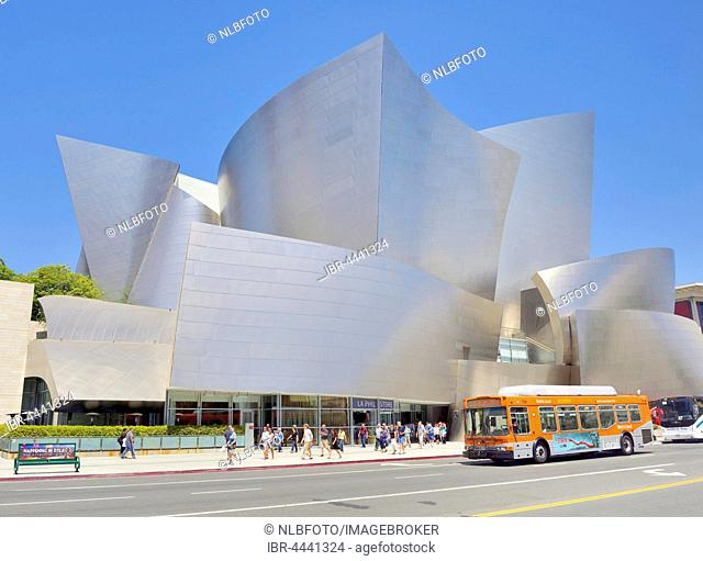 LA Phil, Los Angeles Philharmonic, Walt Disney Concert Hall, architect Frank Gehry, Downtown, Los Angeles